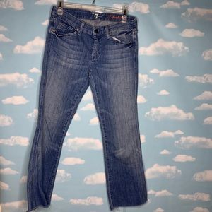 7 For All Mankind- A pocket Med Wash Jeans size 29